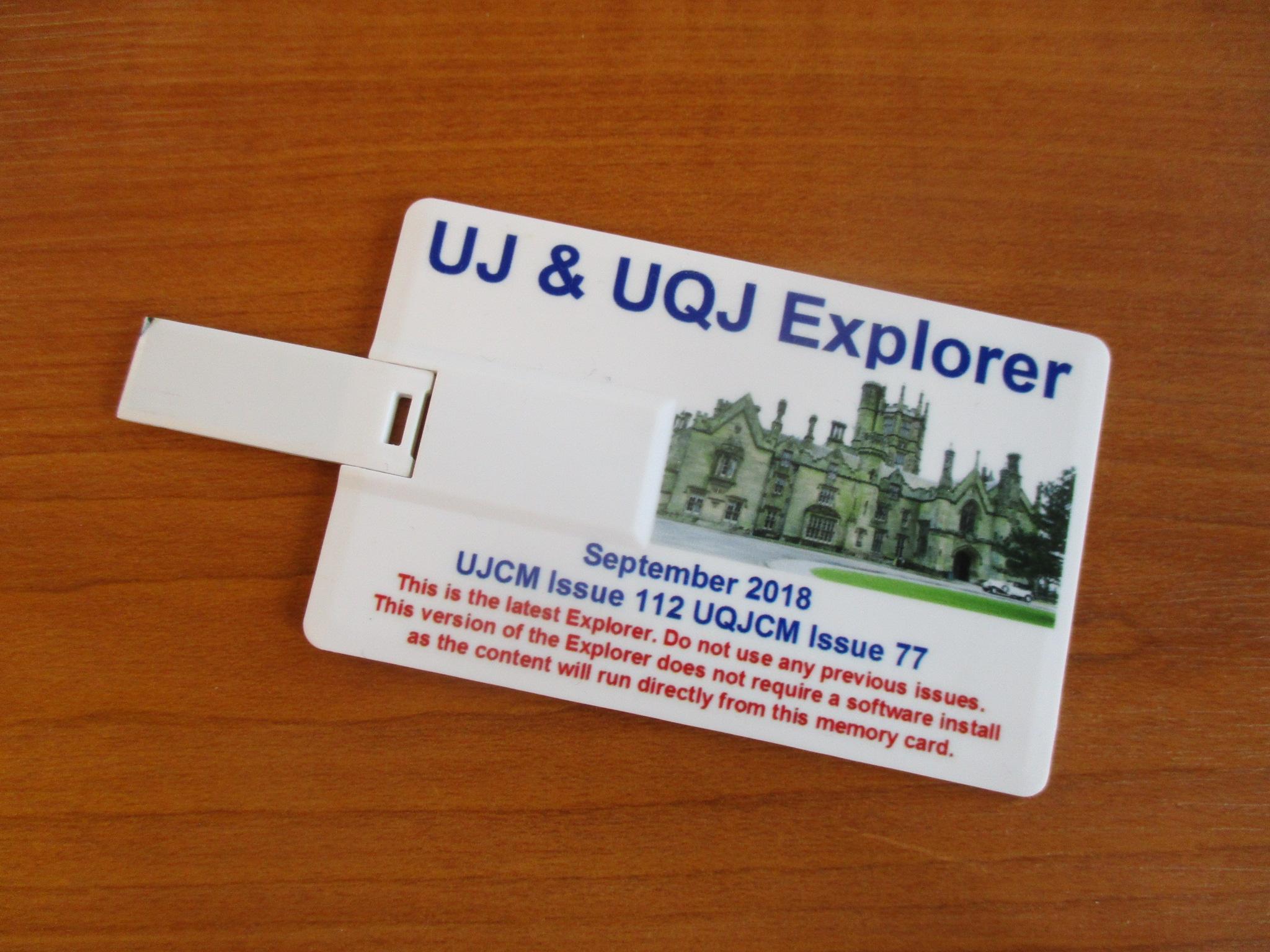 UJ Explorer Sept 2018